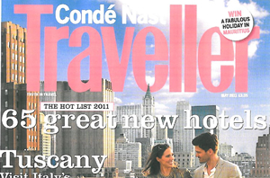 Conde Nast Traveller Hot List